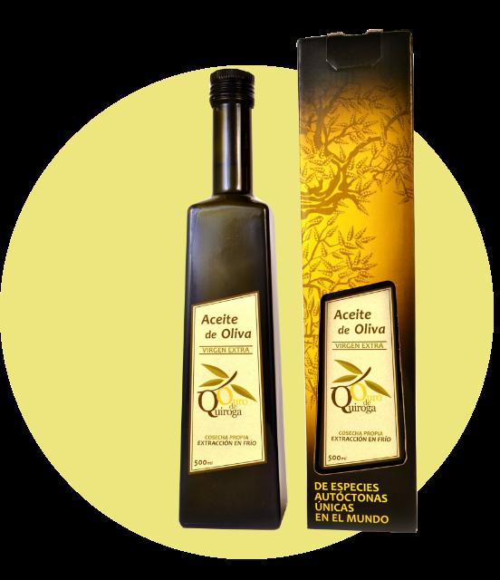 Aceite de Oliva Virgen Extra Ouro de Quiroga